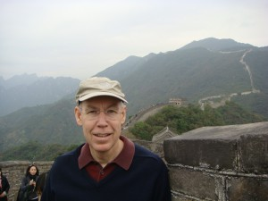Rick on the Great Wall