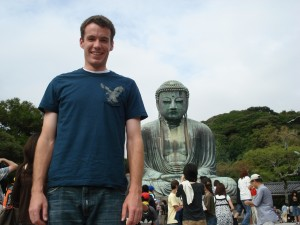 Fum with Daibutsu (Big Buddha)