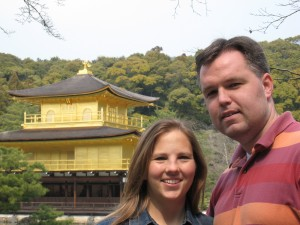 Golden Pavillion Kyoto- James and Ruth