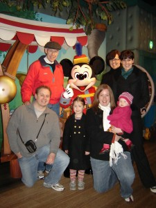 Tokyo Disney with our friend Mickey