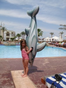 "Maddie and ""Dolphiny"""