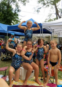 The Carruth FAmily Swimmers